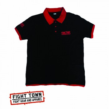 Polo T-Shirt  - Fight Town - Leisure Polo - Front
